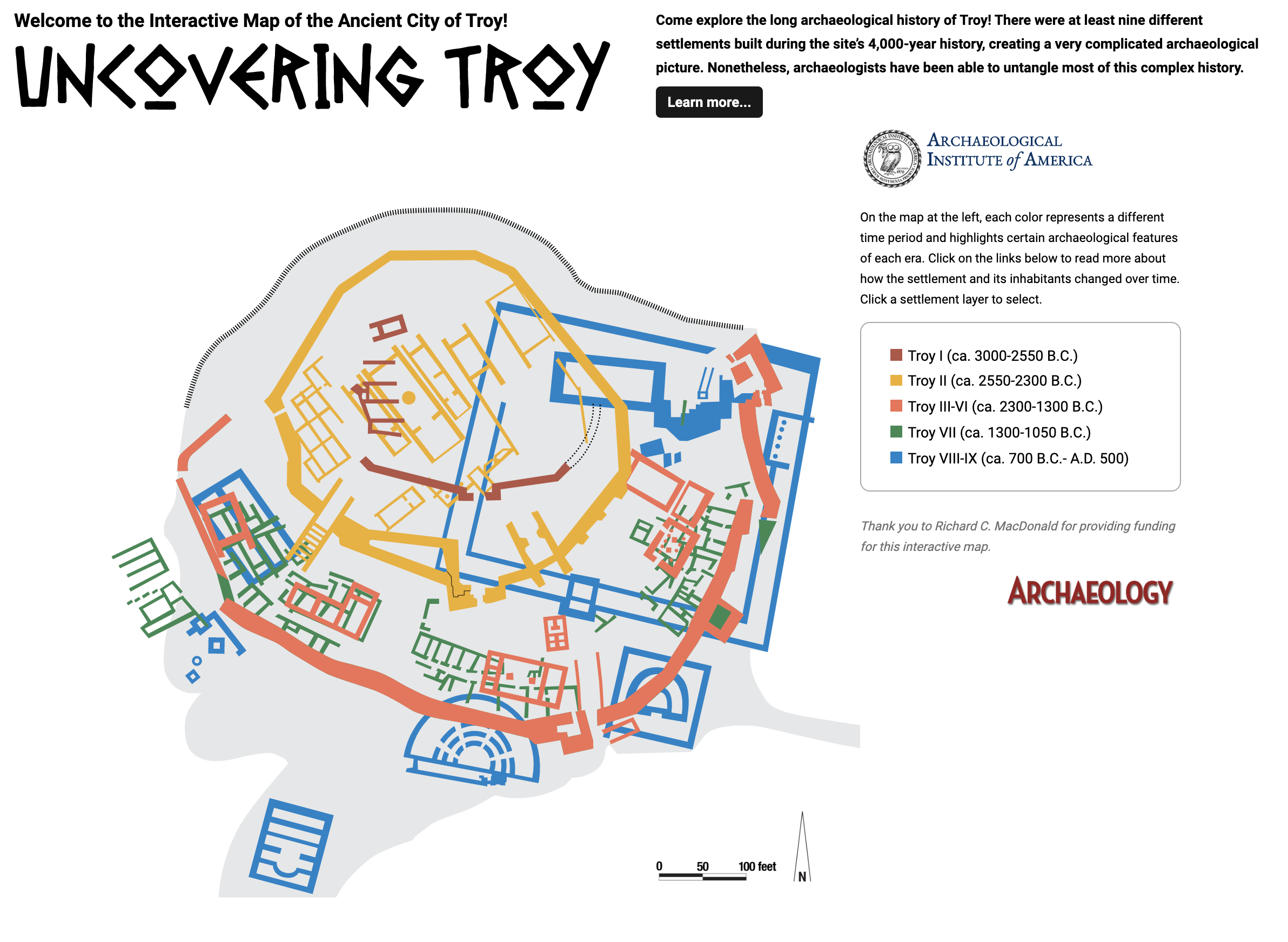 [Tools] An Interactive Map of Troy