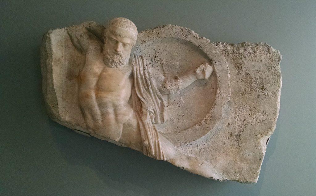 Relief of a Fallen Warrior
