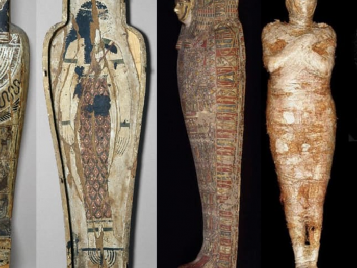 Pregnant Egyptian Mummy