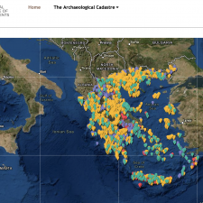 [Tools] Registry of Greek Archaeological Sites Available Online