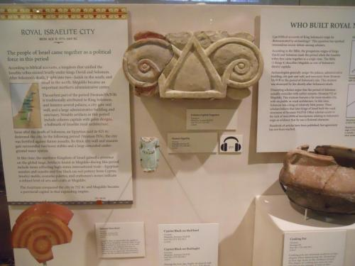 Oriental Institute - Megiddo Exhibit